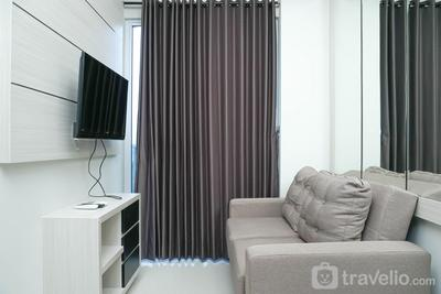 Simple and Minimalist 3BR Apartment at Puri Mansion By Travelio