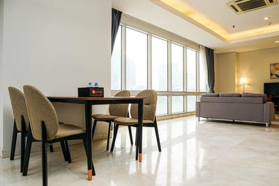 Spacious and Elegant 2BR @ The Empyreal Epicentrum Kuningan Apartment By Travelio
