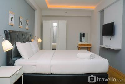 Minimalist with City View 2BR Apartment at Casablanca East Residences By Travelio