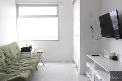 2BR Apartment Grand Asia Afrika near Alun-alun Bandung By Travelio