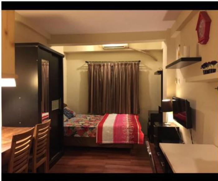 Apartemen City Park - Contemporary Studio Room At City Park Apartment