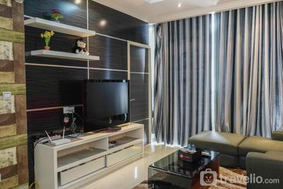 Comfy 1BR at Ancol Mansion Apartment By Travelio