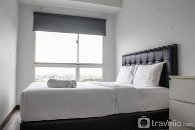 Minimalist and Comfy 1BR Apartment Scientia Residence By Travelio