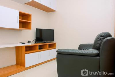 Fabulous and Strategic 2BR The Mansion Kemayoran Apartment By Travelio