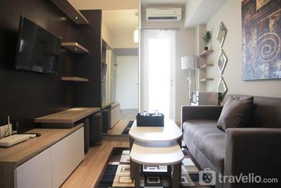 Deluxe and Comfortable 2BR The Springlake Summarecon Apartment By Travelio