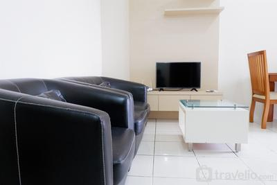 2BR Apartment with City View at Mediterania Marina Residences By Travelio