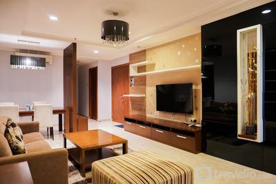 Elegant 2BR at Permata Hijau Residences By Travelio