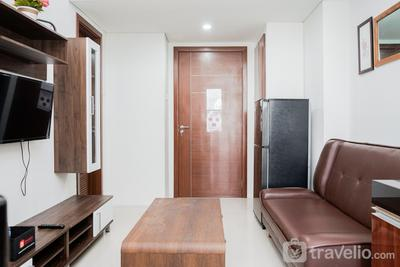 Comfort 2BR Apartment at Vittoria Residence By Travelio