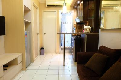 2BR with Access to Shopping Center at Kalibata Apartment By Travelio