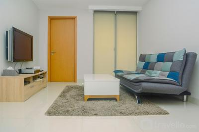 Spacious 1BR Unit The Mansion Kemayoran Apartment By Travelio