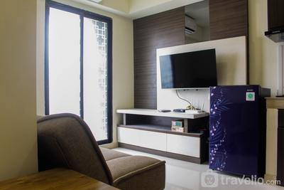 Homey and Enjoy 2BR at Meikarta Apartment By Travelio