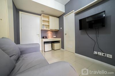 Contemporary 1BR Near Cihampelas at Parahyangan Residence Apartment By Travelio