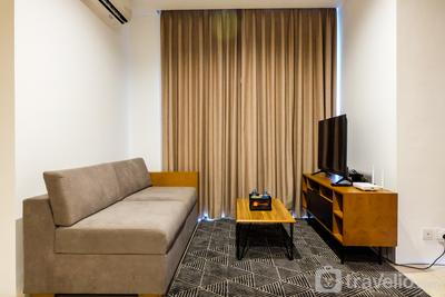 Spacious Elegant 2BR Veranda Residence @ Puri Apartment by Travelio
