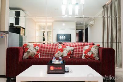 Spacious 2BR Apartment at Mangga Dua Residence By Travelio