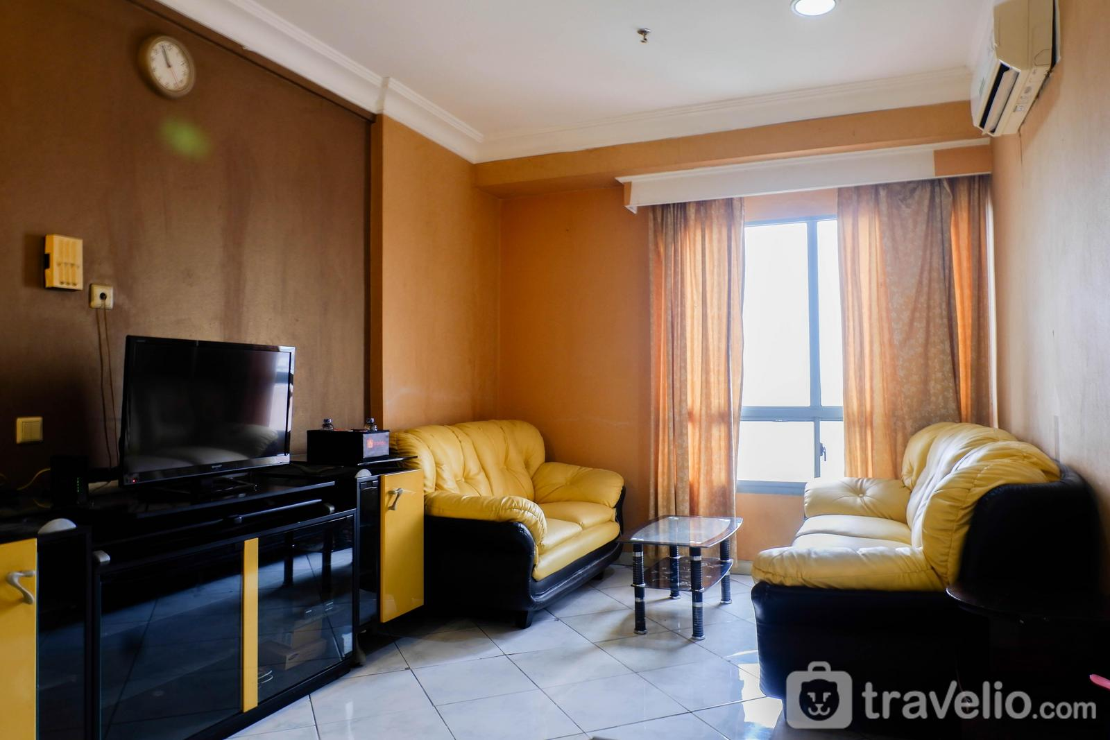 Apartemen Taman Beverly - Spacious 1BR Apartment at Taman Beverly By Travelio
