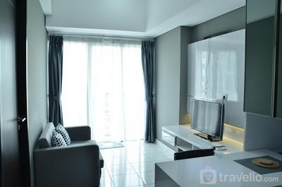 Homey and Comfy 1BR at Casa de Parco Apartment By Travelio