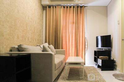 Minimalist and Cozy 1BR Cosmo Terrace at Thamrin Apartment By Travelio