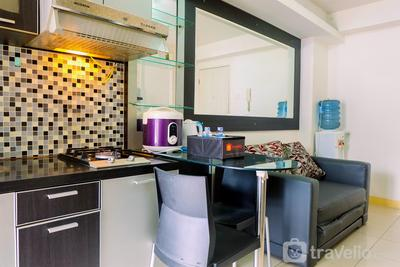 Comfy 2BR at Green Palace Kalibata City Apartment near Shopping Mall By Travelio