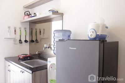 Simply Homey 1BR Apartment at Parahyangan Residence near UNPAR By Travelio