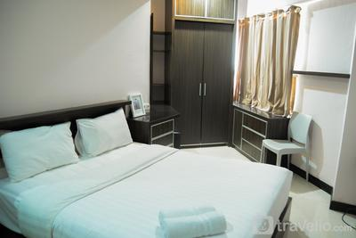 Cozy 2BR Sudirman Park Apartment By Travelio