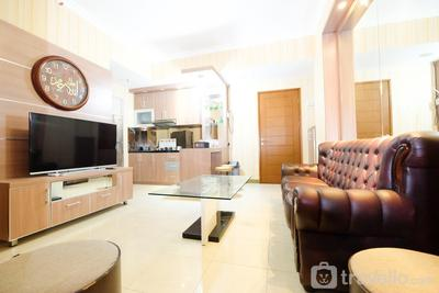 Comfortable 2BR Apartment at Gading Greenhill near to Kelapa Gading By Travelio
