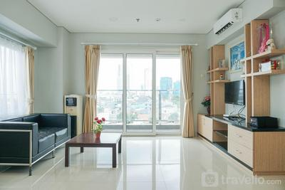 Wonderful 3BR Apartment at Maqna Residence By Travelio