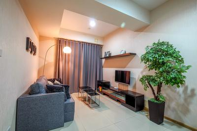 1 BR Apartment @ Casa Grande Residence Near Kota Kasablanka By Travelio
