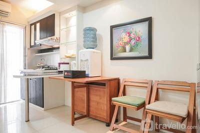 Best Homey and Super Spacious Big Studio Room Green Palace Apartment By Travelio