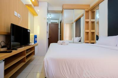 Minimalist Studio Room with Affordable Price @ Tifolia Apartment By Travelio