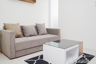 Cozy Living 1BR Apartment at Bintaro Plaza Residence By Travelio