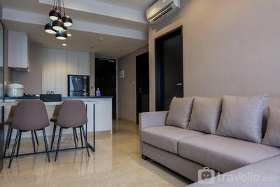 Fully Furnished 1BR at The Branz BSD Apartment By Travelio