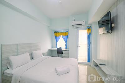 New Furnished Tamansari Mahogany Studio Apartment with Modern Style By Travelio