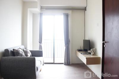 Premium 2BR Tamansari Panoramic Apartment By Travelio
