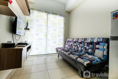 New Furnished 1BR Saveria Apartment near BSD City By Travelio