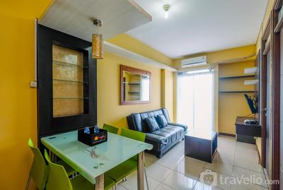 Homey and Minimalist 2BR at Bogor Valley Apartment By Travelio