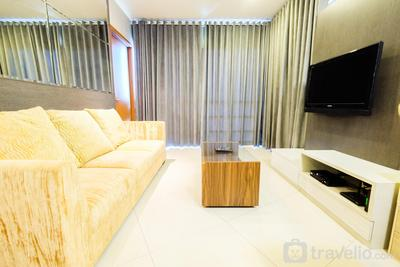 Luxury 2BR Apartment Sahid Sudirman Residence By Travelio
