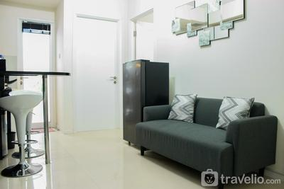 Direct Access to Pool 2BR Apartment at Parahyangan Residence By Travelio