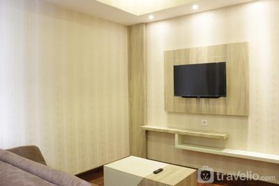 Homey and Chic 2BR Apartment Newton Residence By Travelio