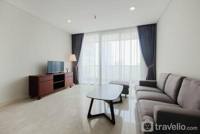 Spacious 2BR @ The Empyreal Condominium Epicentrum Apartment By Travelio