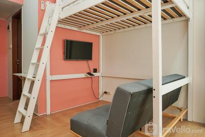 Best Studio Apartment Vittoria Residence with Sofa Bed By Travelio