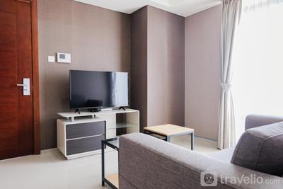 Elegant 1BR Apartment at The Accent Condominium By Travelio