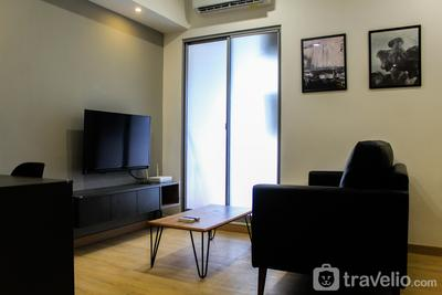 Warm and Cozy 3BR Apartment at M-Town Residence By Travelio