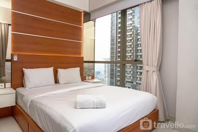 Relaxing 2BR Apartment Taman Anggrek Residence By Travelio