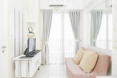 Fully Furnished with Comfortable Design 1BR Apartment Silkwood Residences By Travelio