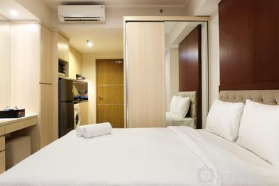 Artistic Studio Apartment at The Oasis Cikarang By Travelio