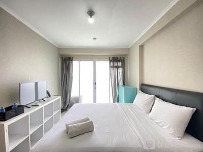Minimalist Decor Studio Apartment at Gateway Pasteur By Travelio