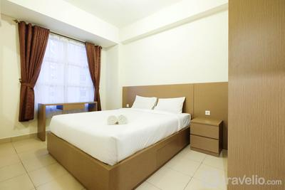 Cozy and Spacious 1BR Saveria Apartment near AEON Mall & ICE BSD By Travelio