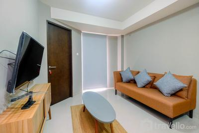 Comfortable 1BR Apartment at Mustika Golf Residence By Travelio