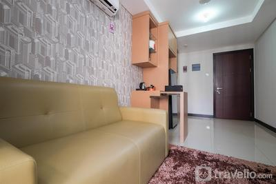Comfortable 2BR Sky Terrace Apartment By Travelio