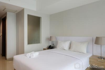 Studio Apartment with Mall Access at U Residence By Travelio